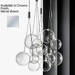 Random Multi Light Pendant Light (Chrome) - OPEN BOX RETURN