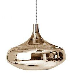 Nostalgia Large LED Pendant (Glossy Copper)-OPEN BOX RETURN