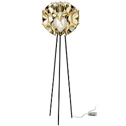 Flora Metallic Floor Lamp