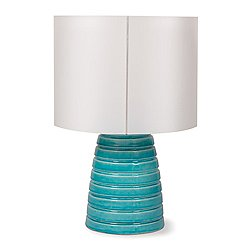 INDA Ribbon Ceramic Cordless Outdoor Table Lamp