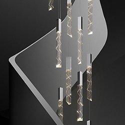 Trinity Round Cluster LED Pendant Light