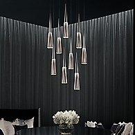 Spire Round Cluster LED Pendant Light