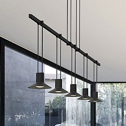 Suspenders 36-Inch 1-Tier Linear Suspension Light