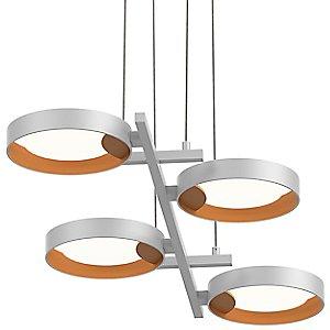 Light Guide Ring 4-Light LED Pendant Light by SONNEMAN Lighting