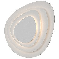 Abstract Panels 4-Plate LED Wall Sconce