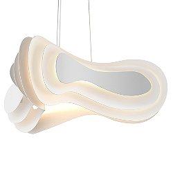 Abstract Rhythms LED Pendant Light