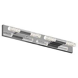 Crystal Rods LED Bath Bar