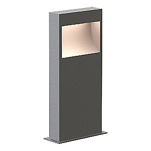 Square Curve Outdoor LED Bollard by SONNEMAN Lighting