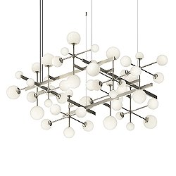 Nebula Square LED Chandelier