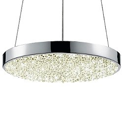 Dazzle 12 Inch Round LED Pendant Light