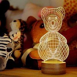 Teddy Bear LED Table Lamp