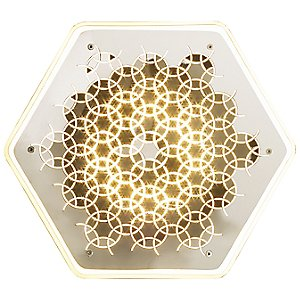 Tesselation LED Wall Sconce by Synchronicity