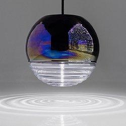 Flask Oil Ball Pendant Light