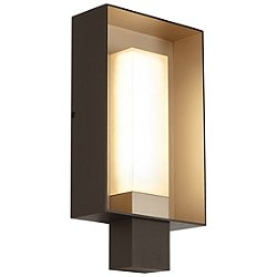 Refuge Square Outdoor LED Wall Sconce