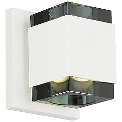 Voto Square LED Wall Sconce(Smoke/Antique Bronze) - OPEN BOX