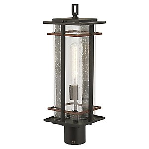 San Marcos Outdoor Post Lantern by The Great Outdoors: Minka-Lavery