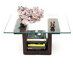 SQG22 Rectangular Glass Top Table