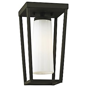 Mission Beach Outdoor Semi-Flush Mount Ceiling Light by Troy Lighting