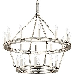 Sutton Tiered Chandelier