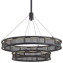 Fuze LED Tiered Pendant Light