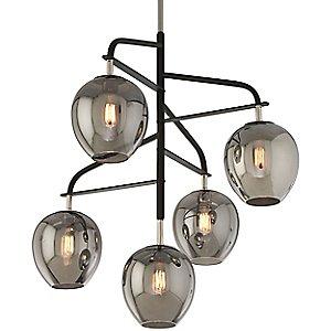 Odyssey 5 Light Pendant Light by Troy Lighting