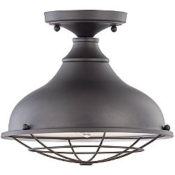 Camden Outdoor Flush Mount Ceiling Light