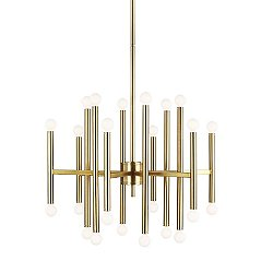 Beckham Modern 24 Light Chandelier