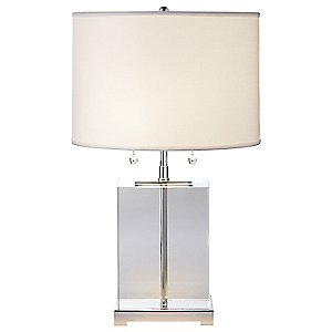 Block 18-Inch Table Lamp by Visual Comfort