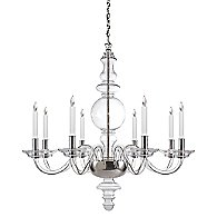 King George Round Chandelier