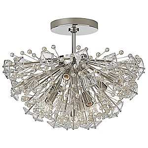 Dickinson Semi Flush Mount Ceiling Light by Visual Comfort