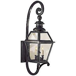 Chelsea Fancy Outdoor Wall Lantern by Visual Comfort