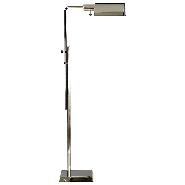 Pask Pharmacy Floor Lamp by Visual Comfort - Color: Brass - Finish: Brass - (TOB 1200HAB)