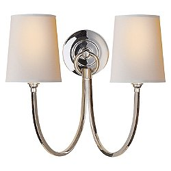 Reed Double Wall Sconce