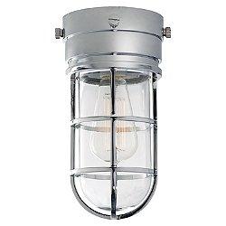 Marine Indoor/Outdoor Flush Mount Ceiling Light