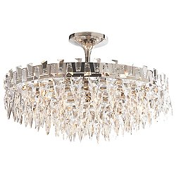 Trillion Semi-Flush Mount Ceiling Light