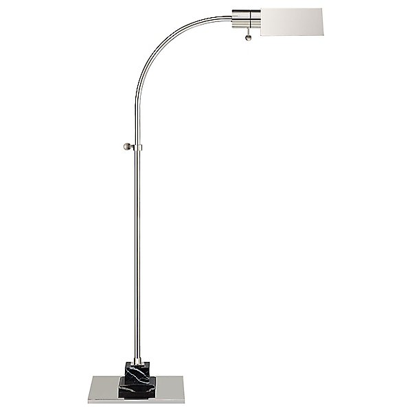 Eton Pharmacy Floor Lamp by Visual Comfort - Color: Silver - Finish: Polished Nickel - (TOB 1102PN/BM)
