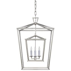 Darlana Double Cage Lantern Pendant Light