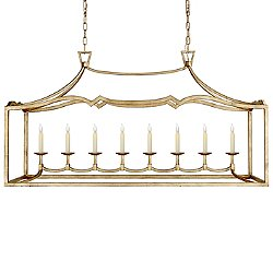 Fancy Darlana 8-Light Linear Suspension Light