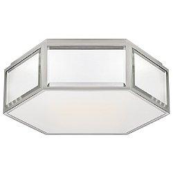 Bradford Hexagonal Flush Mount Ceiling Light