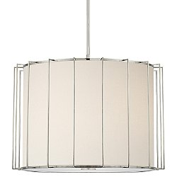 Carousel Drum Shade Pendant Light