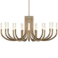 Rousseau LED Oval Chandelier