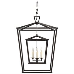 Darlana Double Cage Lantern Pendant - OPEN BOX RETURN