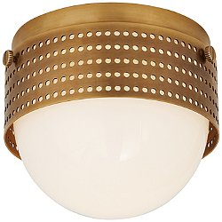 Precision Round LED Flush Mount Ceiling Light