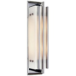 Ted Wall Sconce by Visual Comfort (Chrome) - OPEN BOX RETURN