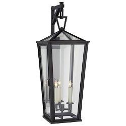 Darlana Tall Outdoor Wall Bracket Lantern (Large) - OPEN BOX