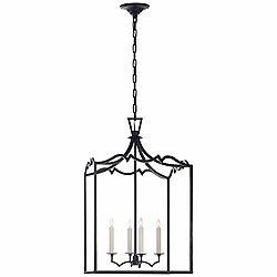 Darlana Fancy Lantern Pendant (Iron/Medium)-OPEN BOX RETURN