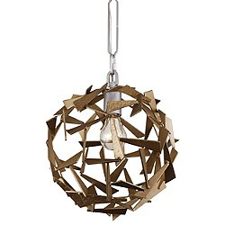 Bermuda 1-Light Orb Pendant Light
