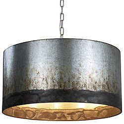 Cannery Four Light Drum Pendant Light