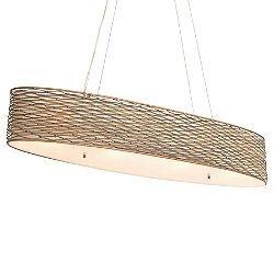 Flow 4 Light Linear Pendant Light