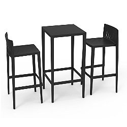 Spritz Outdoor Bar Table and Stool Set